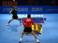 انواع حرکت پا در تنیس روی میز